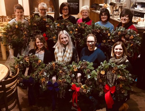"""Wreath-ly"" great start to the festive season"