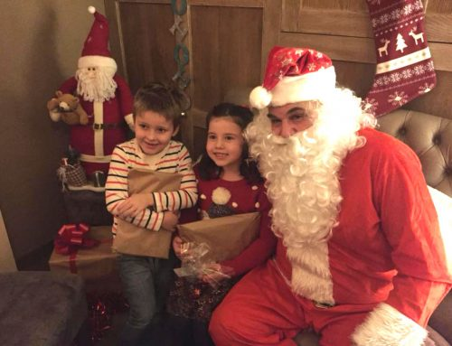 Children's magical dine with Santa experiences